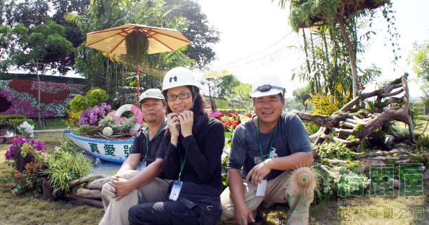 狂賀!綺麗屋與崧荃團隊榮獲2010高雄景觀花藝競賽冠軍