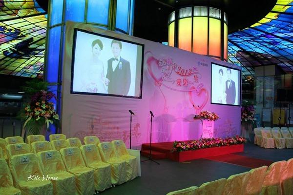 高雄婚禮佈置中鋼集團結婚2013愛你一生 (3)