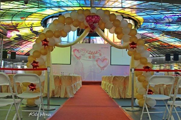高雄婚禮佈置中鋼集團結婚2013愛你一生 (4)