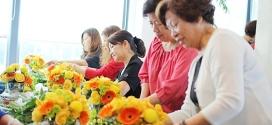 大華插花班之西子灣沙灘會館下午茶花藝派對
