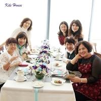 優雅紫白色系下午茶派對