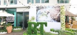 專業高雄婚禮佈置綺麗屋│西子灣沙灘Tiffany藍浪漫婚禮