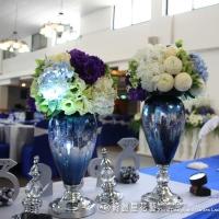 高雄婚禮佈置│英式貴族風藍色婚禮