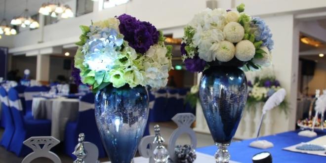 專業高雄婚禮佈置綺麗屋│英式貴族風藍色婚禮