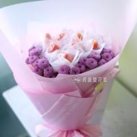 莓好花束-粉 (季節限定)【AA142】高雄花店綺麗屋