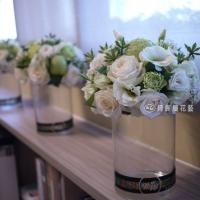 典雅藝術桌花【EA062】 高雄花店綺麗屋