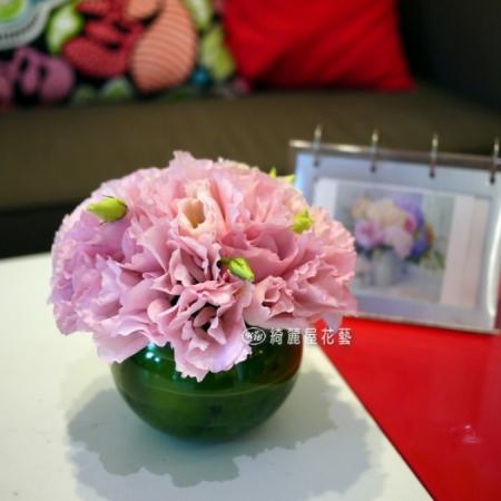 小型精緻桌花【EA078】高雄花店綺麗屋