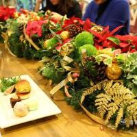 聖誕節派對花藝佈置|高雄花店綺麗屋 & Q Garden傢俱傢飾