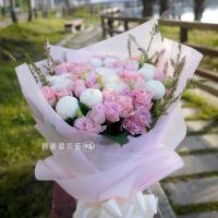高雄花店綺麗屋|粉愛您母親節花束【AA156】