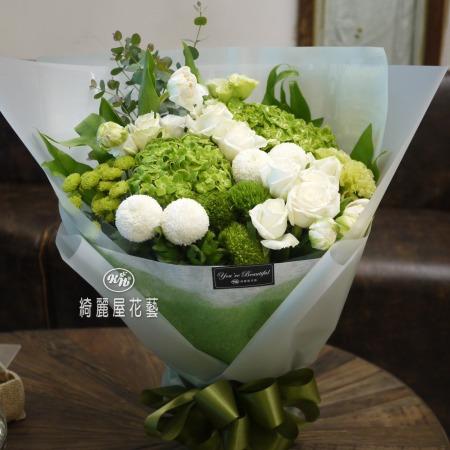 優雅七夕情人節花束【AA169】