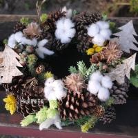 暖暖童話聖誕花圈【HA004】