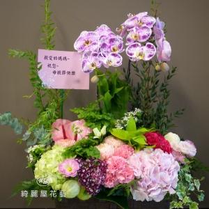 母親節康乃馨與蘭花花禮【CA079】-2