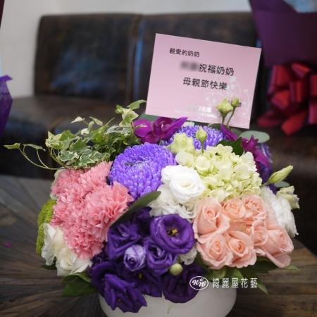母親節康乃馨花禮【EA096】