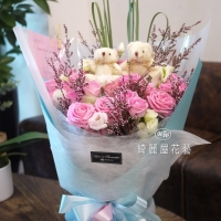 2020母親節花束|高雄花店綺麗屋
