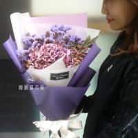 繡球花乾燥花束