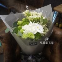 桔梗與繡球花束【AA195】 高雄花店綺麗屋